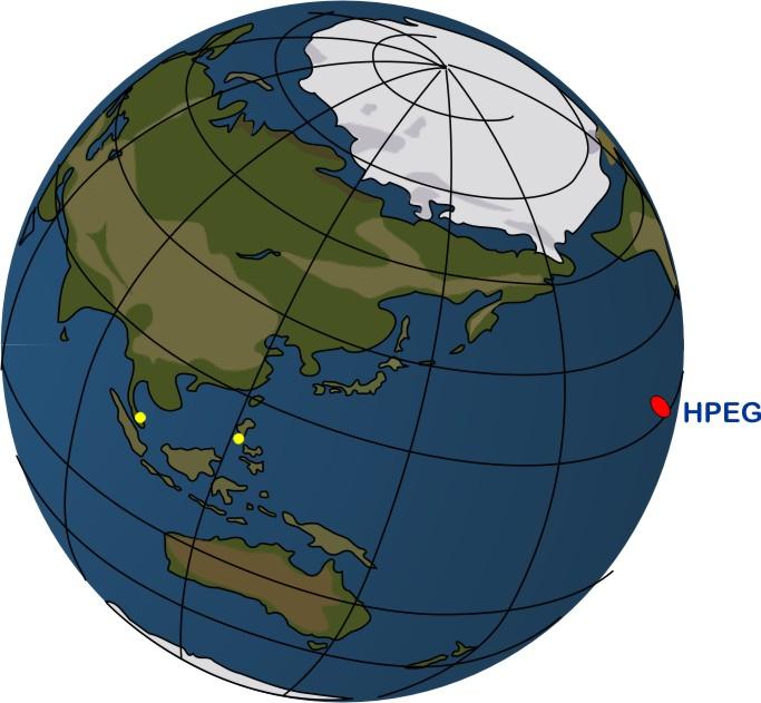 Asia-Pacific Globe